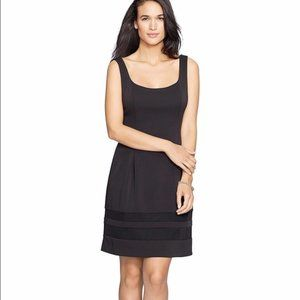 Ralph Lauren black dress with mesh hem detail